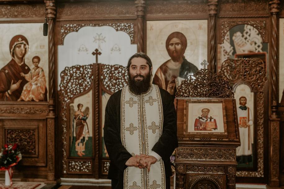 Părintele protosinghel Arsenie Pohrib